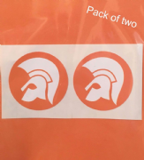 Pack Of Two Trojan Head
